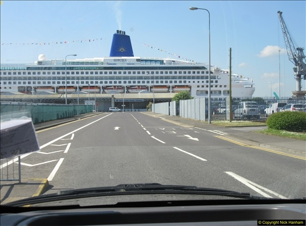 2018-05-19 & 18 Poole - Southampton - Bay of Biscay.  (22)022