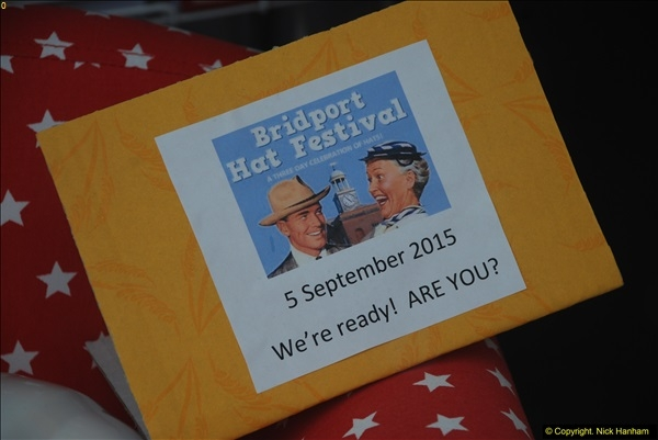 Bridport Dorset Hat Festival 05 September 2015