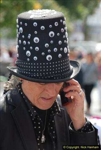 2015-09-05 Bridport Hat Festival 2015.  (607)607