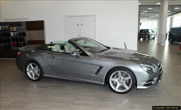 2014-08-01 Mercedes Benz World & Brooklands Museum Revisited.  (201)201