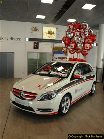 2014-08-01 Mercedes Benz World & Brooklands Museum Revisited.  (205)205