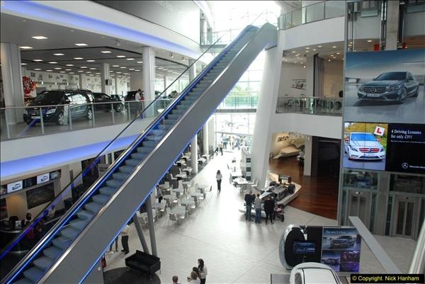 2014-08-01 Mercedes Benz World & Brooklands Museum Revisited.  (215)215