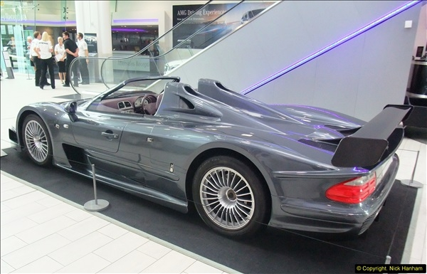 2014-08-01 Mercedes Benz World & Brooklands Museum Revisited.  (223)223