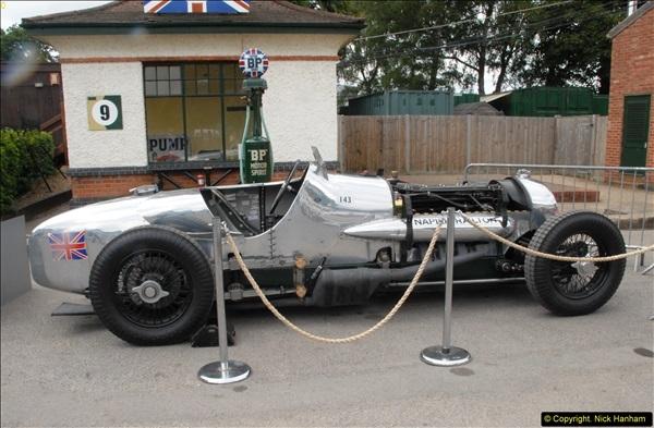 2014-08-01 Mercedes Benz World & Brooklands Museum Revisited.  (547)547