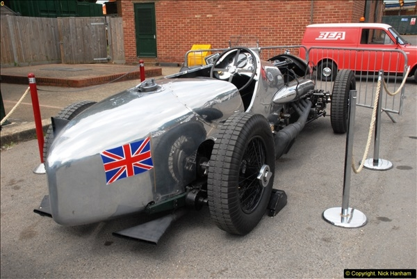2014-08-01 Mercedes Benz World & Brooklands Museum Revisited.  (557)557