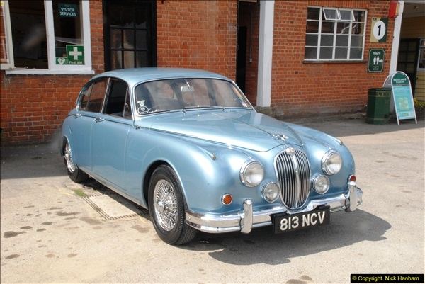 2014-08-01 Mercedes Benz World & Brooklands Museum Revisited.  (579)579