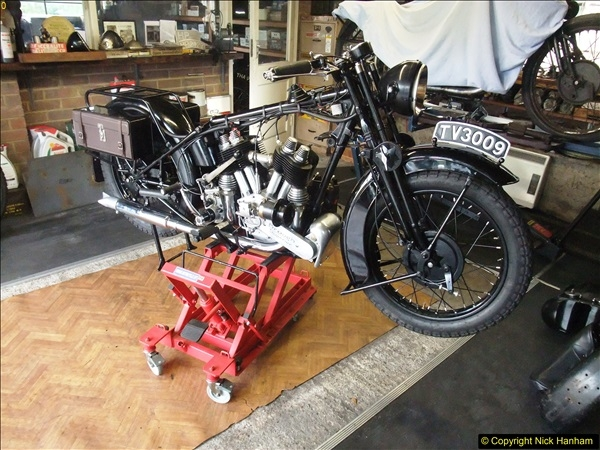 2015-03-06 Three Brougs in the same workshop. (6)133
