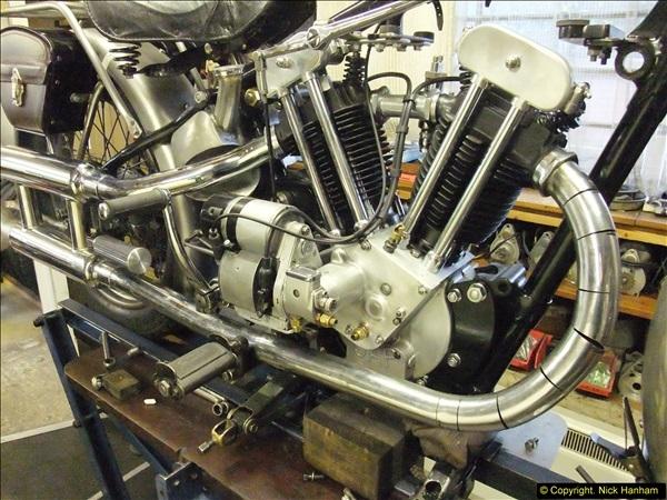 2014-01-29 Brough Motorcycle Restoration + Triumphs. (11)011