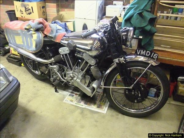 2014-01-29 Brough Motorcycle Restoration + Triumphs. (20)020
