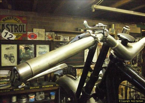 2014-01-29 Brough Motorcycle Restoration + Triumphs. (23)023