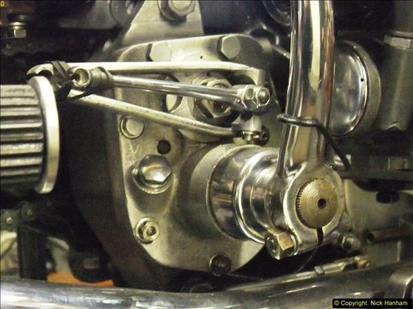 2014-01-29 Brough Motorcycle Restoration + Triumphs. (31)031