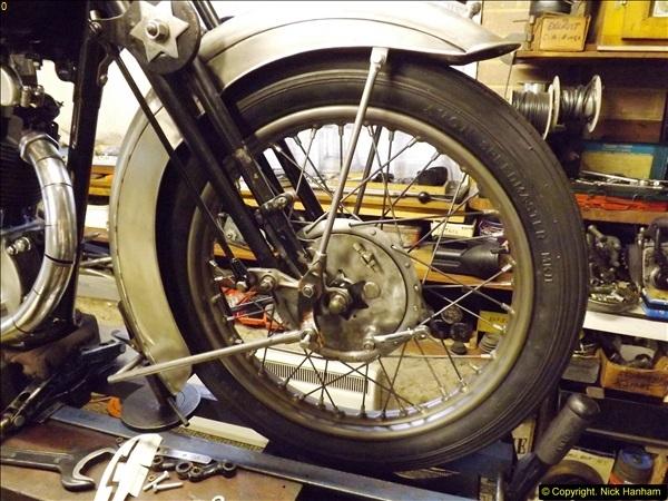 2014-01-29 Brough Motorcycle Restoration + Triumphs. (37)037