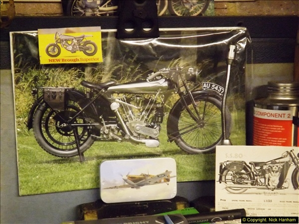 2014-01-29 Brough Motorcycle Restoration + Triumphs. (42)042