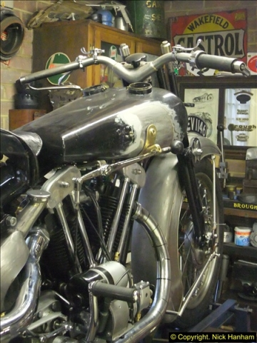 2014-01-29 Brough Motorcycle Restoration + Triumphs. (5)005