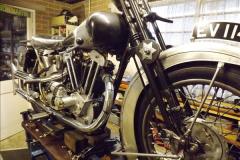 2014-01-29 Brough Motorcycle Restoration + Triumphs. (39)039