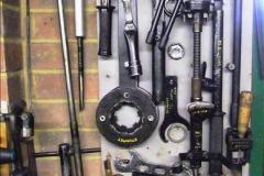 2014-01-29 Brough Motorcycle Restoration + Triumphs. (54)054
