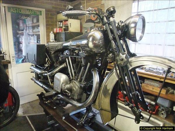 2016-03-30 Brough motorcycle restoration progress.  (1)174