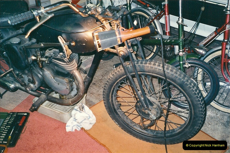 2001-03-20 Now retired works starts on the BSA.  (1)010