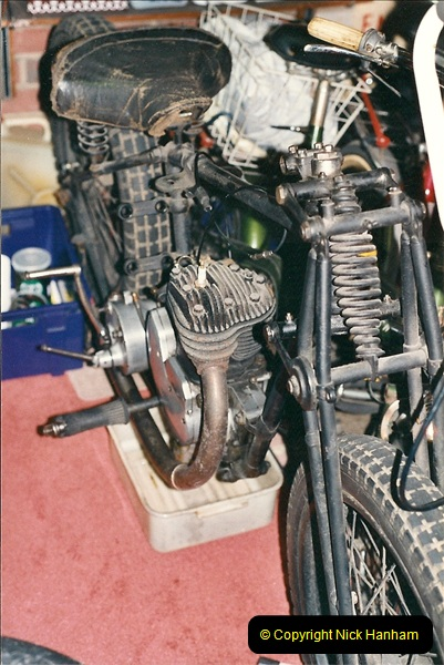 2001-03-20 Now retired works starts on the BSA.  (4)013