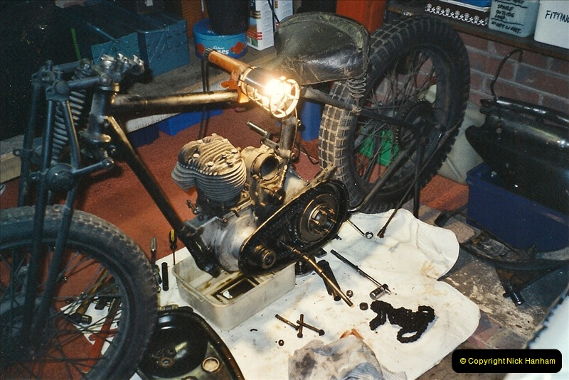 2001-03-20 Now retired works starts on the BSA.  (5)014