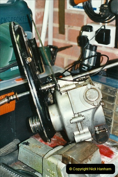 2001-03-20 Now retired works starts on the BSA.  (6)015