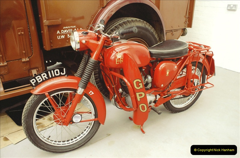 A project to turn one of my BSA Bantams into a GPO machine.  (2)636