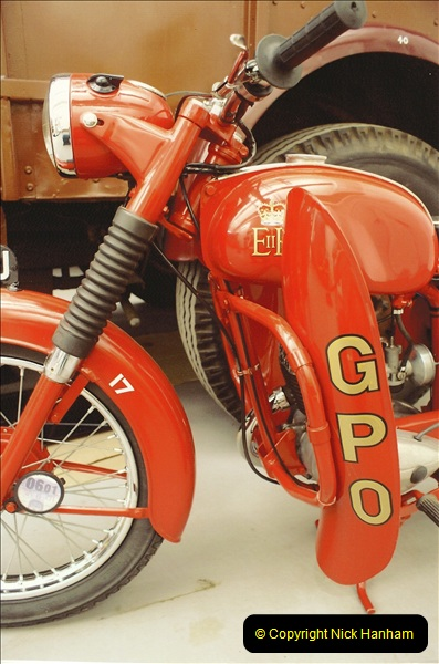 A project to turn one of my BSA Bantams into a GPO machine.  (3)637