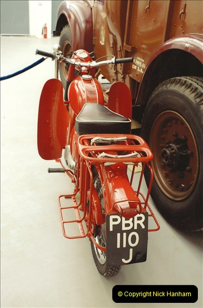 A project to turn one of my BSA Bantams into a GPO machine.  (5)639