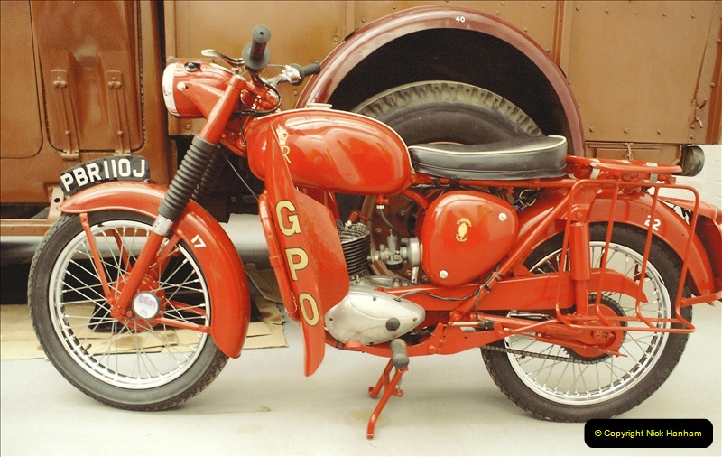 A project to turn one of my BSA Bantams into a GPO machine.  (6)640