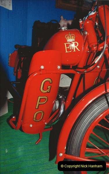 A project to turn one of my BSA Bantams into a GPO machine.  (7)641