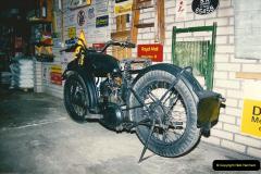 1993-11-25 A retirement restoration project. BSA 250cc 1937 machine. (4)004