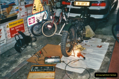 2001-03-20 Now retired works starts on the BSA.  (2)011