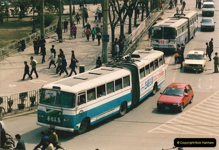 China & Hong Kong April 1993.  (80)
