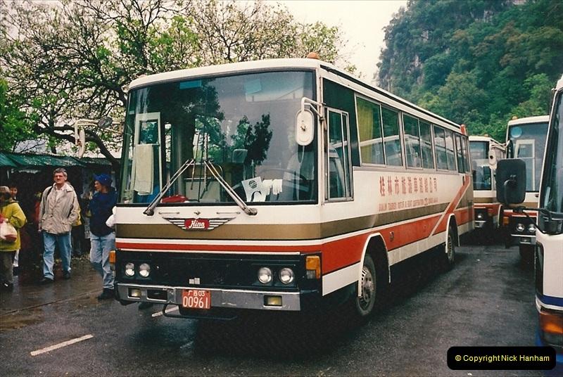 China & Hong Kong April 1993. Picture (100) 100