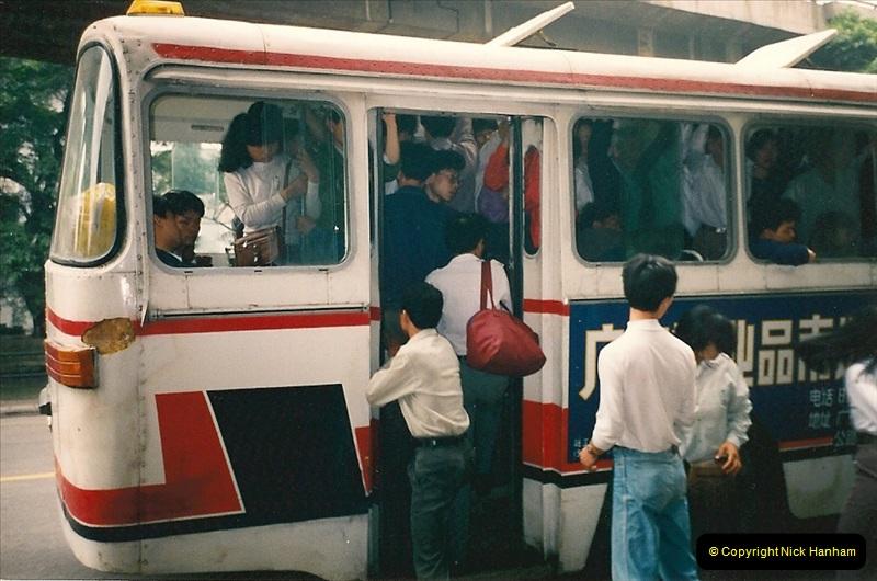 China & Hong Kong April 1993. Picture (109) 109