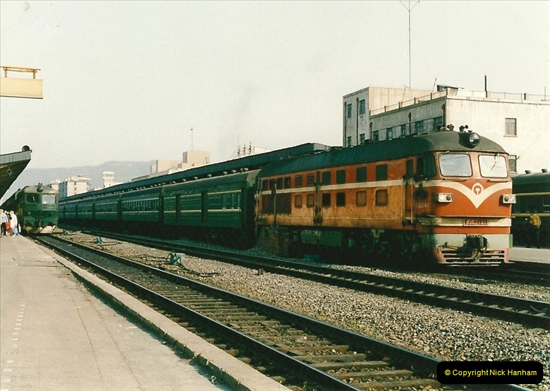 China & Hong Kong April 1993. Picture (212) 212