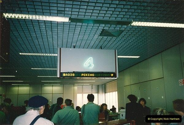 1993-04-03 to 24 China & Hong Kong.  (2)002
