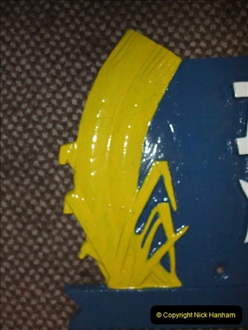 China Rail Plates Restorations. Picture (28) 28
