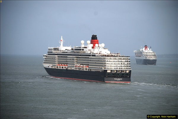 2015-05-03 Three Queens leave Southampton. (167)167