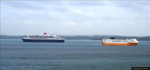 2015-05-03 Three Queens leave Southampton. (178)178