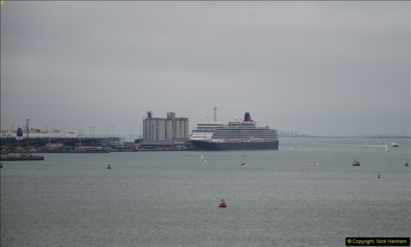 2015-05-03 Three Queens leave Southampton. (69)069