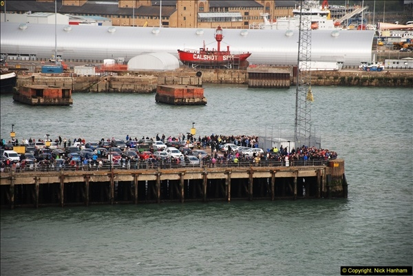 2015-05-03 Three Queens leave Southampton. (97)097