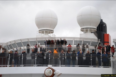 2015-05-03 Three Queens leave Southampton. (102)102
