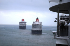 2015-05-03 Three Queens leave Southampton. (131)131