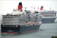 2015-05-03 Three Queens leave Southampton. (133)133