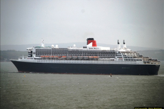 2015-05-03 Three Queens leave Southampton. (160)160