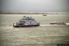 2015-05-03 Three Queens leave Southampton. (168)168