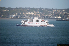 2015-05-03 Three Queens leave Southampton. (191)191