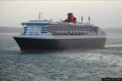 2015-05-03 Three Queens leave Southampton. (194)194