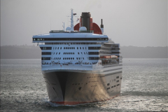 2015-05-03 Three Queens leave Southampton. (196)196